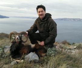 Охота на муфлона в Хорватии