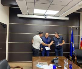 Состоялось подписание договора о строительстве питомника по разведению серны и безоарового козла