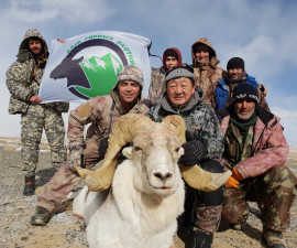 Hunting for Matison argali in Tajikistan