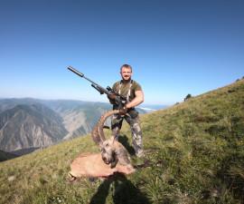 Opening of the hunting season in Sayan.