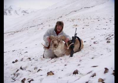 Киргизия,Тянь-шанский баран.