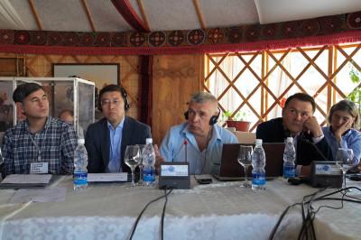 Письмо о прошедшем совещании в Киргизии