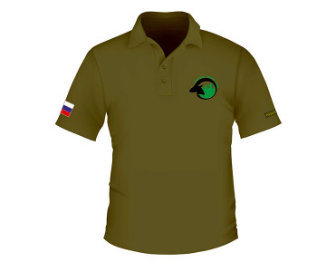 Polo, khaki (English logo)