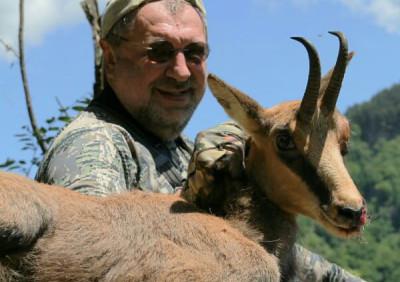 Охота на серну западно-кавказскую