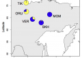 Филогеографическая история популяций снежных баранов Восточной Сибири
