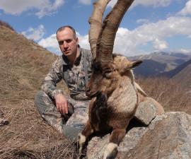 Выходные в горах южного Кавказа. Охота на Безоарового козла
