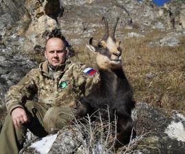 Охота на средне-кавказскую серну