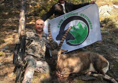 Охота в Саянах