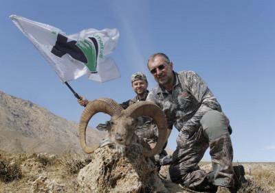 Охота на Афганского уриала