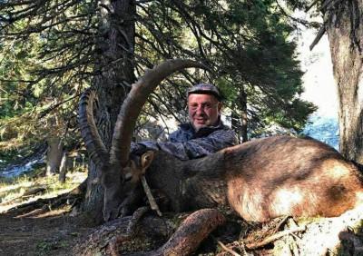 Охота  в Австрии на альпийского козерога и альпийскую серну