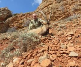 Охота на безоарового козла в Армении