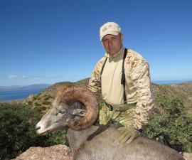 Охота на пустынного толсторога в Мексике