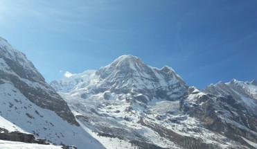 Непал, Базовый лагерь Аннапурны, февраль 2017