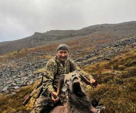 Горная эвенская охота на снежного барана в горах Якутии!!!