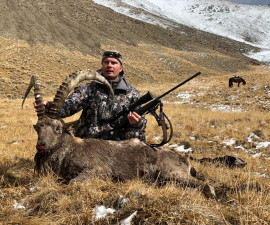 Mid-Asian Ibex in Kyrgyzstan