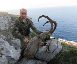 Охота на козерога Кри-кри в Греции