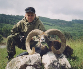 Охота на европейского муфлона