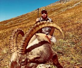 Охота на Алтайского горного козла