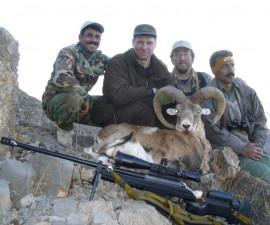 Охота на армянского муфлона