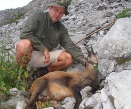 Охота на альпийскую серну