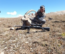 Hunting for the Mountain Goat of Timur Tleulin from Kazakhstan on August, 30th, 202