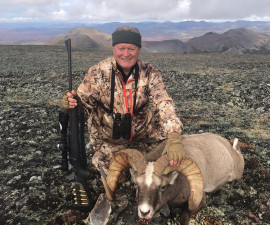 Охота на Чукотке на снежных баранов