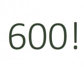 600 Club's members!
