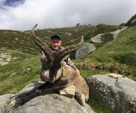 Горная охота в Испании