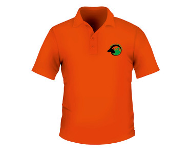 Polo Orange (English logo)