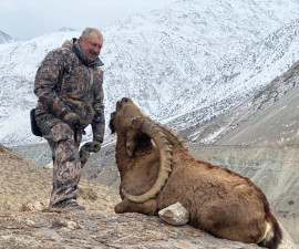 Central Asian goat hunting in Tajikistan