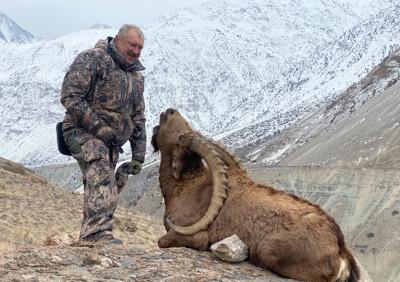 Охота на центрально- азиатского козла в Таджикистане