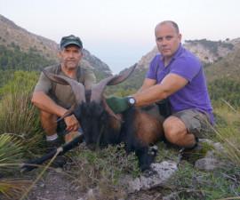 Охота на майорского козла