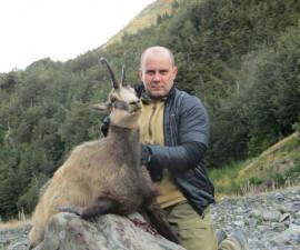 Охота на новозеландскую серну