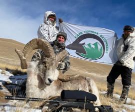 Охота на Тянь-Шаньского Аргали в Кыргыстане