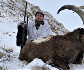 Охота на Памирского козерога в Таджикистане