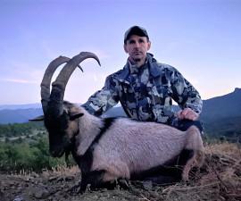 Охота в Северной Македонии на горного козерога Кри-Кри