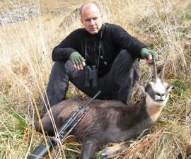 Охота на западно-кавказскую серну