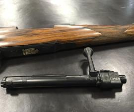 Titanium rifle made by Fanzoj company