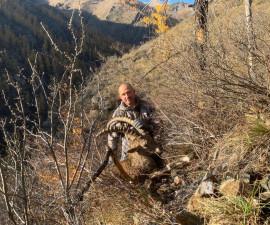 Охота на сибирского козерога