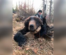 Охота на амурского медведя